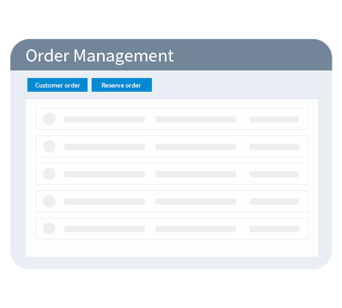 The order management
